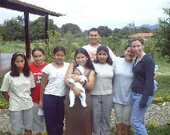 Alfarero staff and girls