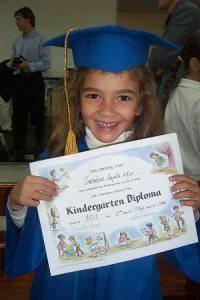Jasmine's Kinder Diploma
