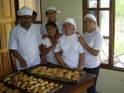Baking at Alfarero