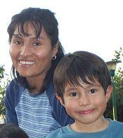 Gaby & Natan (her son/ su hijo)